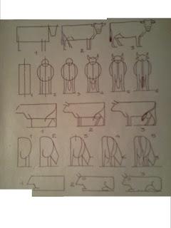 Dessins astuces pour debutants comment dessiner une vache - Dessiner une vache ...