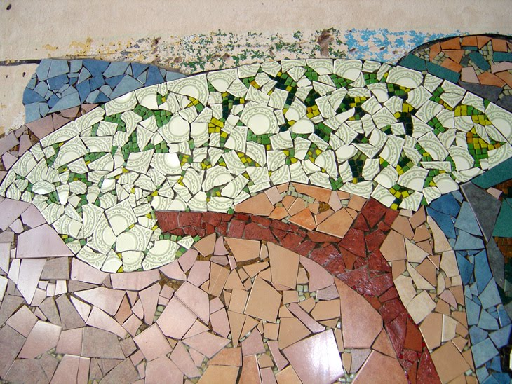 Javier almada murales con cer micos - Murales de ceramica artistica ...