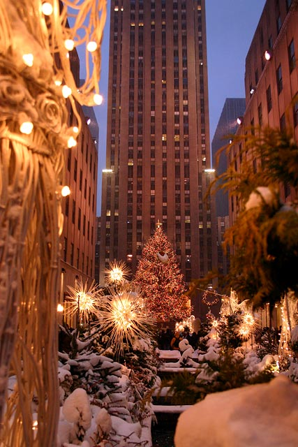 10 best place for your christmas holiday travelling for Home holidays new york manhattan
