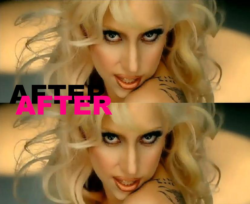 lady gaga images before and after. lady gaga nose efore and