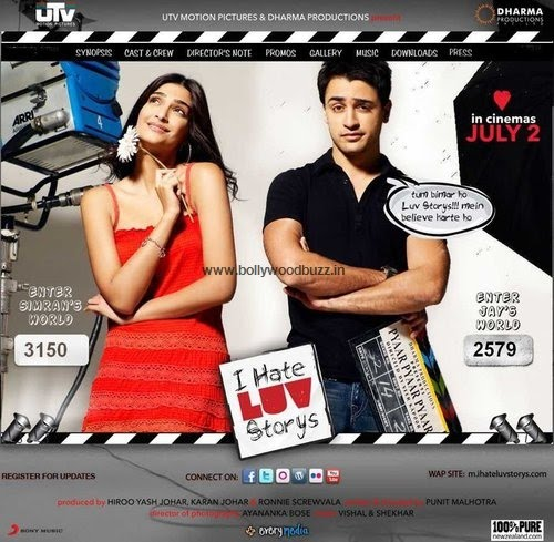 "For Latest, Hot Wallpapers, Photos of Movie ""I Hate Luv Storys """