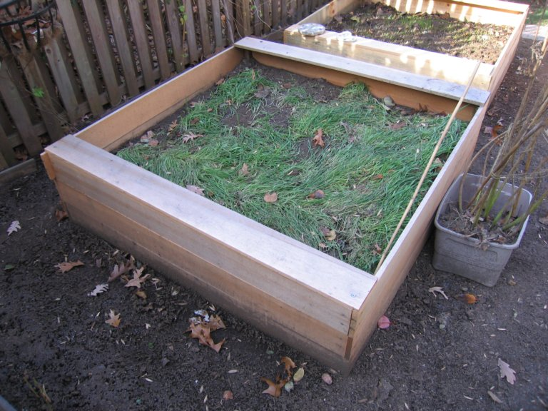 Raised Vegetable Beds (on