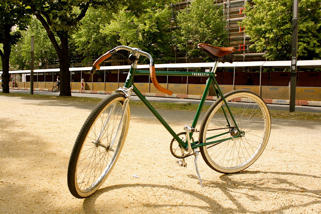 TRENDZETA Retro Bicycle, Retro Fahrrad, Racing Green, DIY Bike
