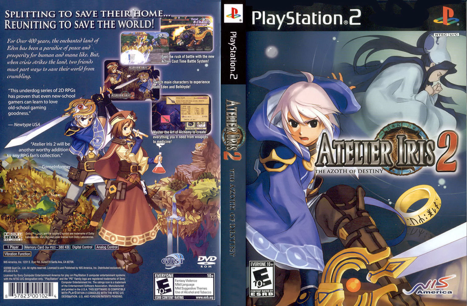 Download - Atelier Iris 2 - The Azoth of Destiny - PS2 - ISO