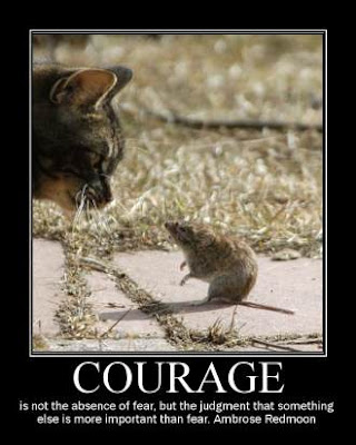 Courage to Face Your Fears