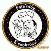 Mais um Selinho,....Este Blog é Saboroso!!  Oferecido pela Tia Amélia no dia 19.Out.2010