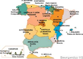 CAPITALES DE LAS CCAA