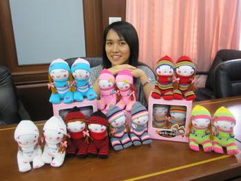 'ตุ๊กตาถุงเท้า' ผลงานจากหลังเลิกงาน อาชีพเสริม ไอเดียสร้างสรรค์