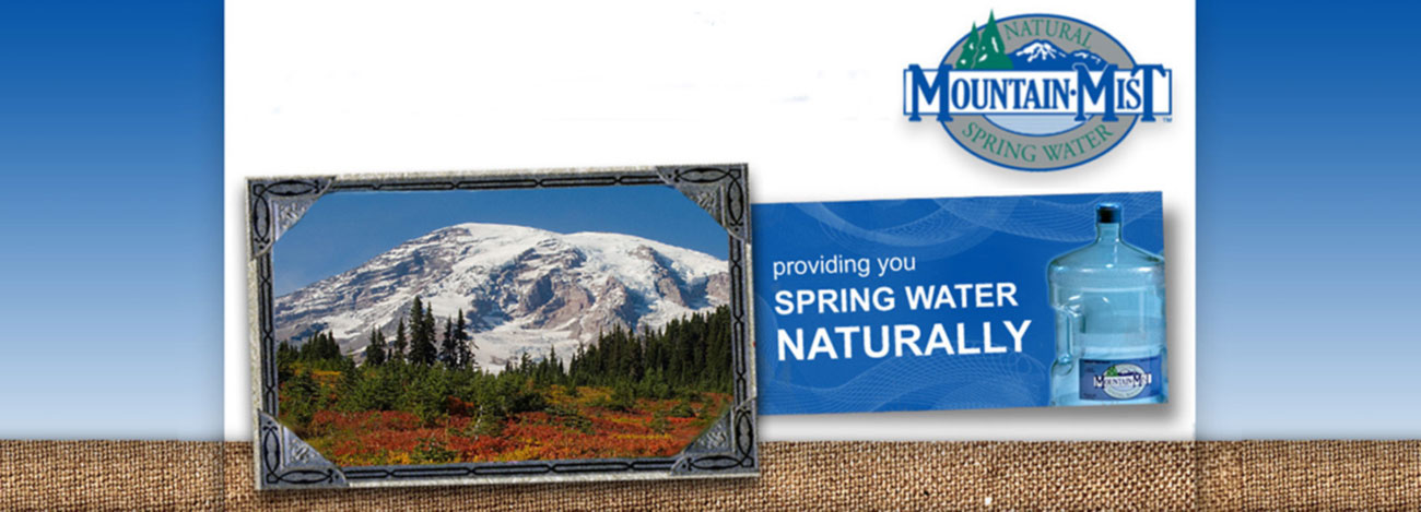 Mountain Mist Bottled Water