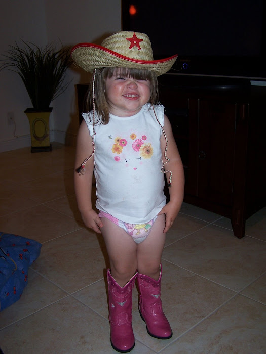 Our Cowgirl!