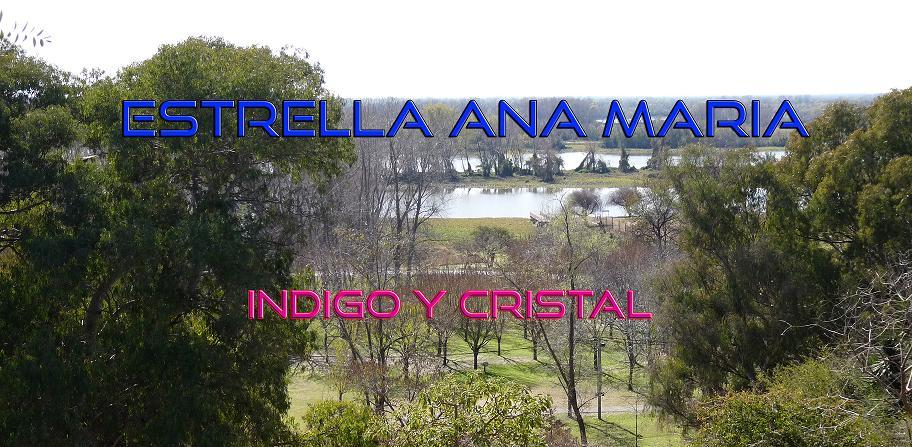 ESTRELLA ANA MARIA - INDIGO Y CRISTAL