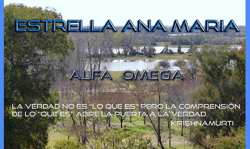 ESTRELLA ANA MARIA - ALFA  OMEGA