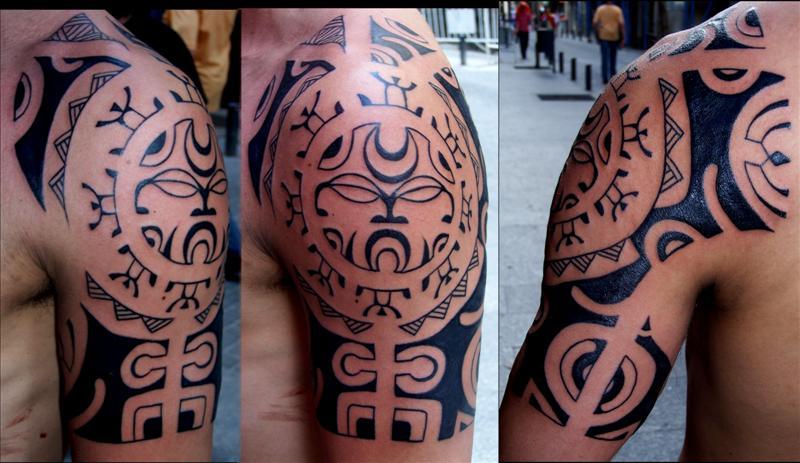 los tatuajes de yandel. CONOCES EL SIGNIFICADO DE LOS TATUAJES?