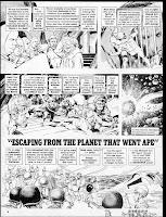 Mad - parodie de la Planète des Singes - page5