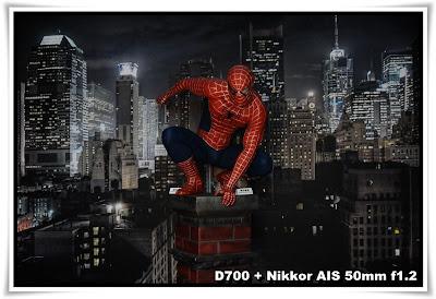 蜘蛛俠@古天樂電影人物模型珍藏展