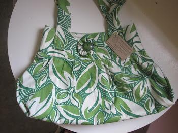 Repurposed Skirt Purses