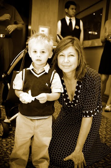 Daughter Kim and Grandson Oscar James Newton 2009