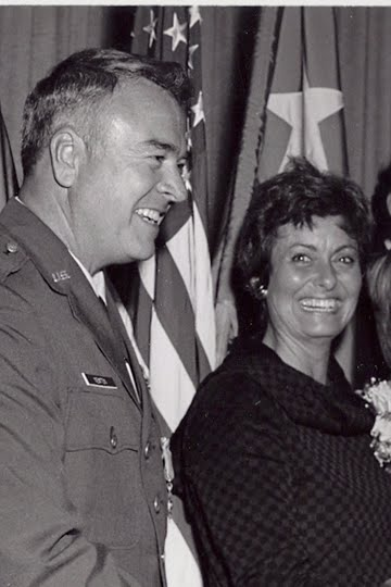 Air Force Retirement Ceremony 1974