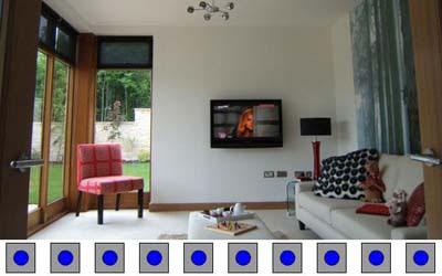 10 Blue Dots