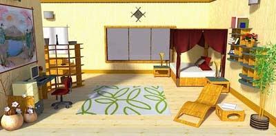 Wooden Bedroom Getaway