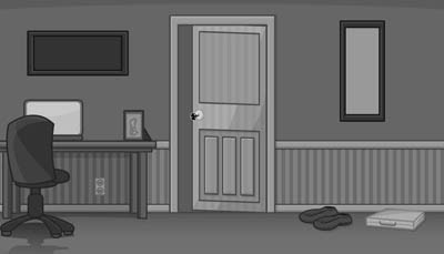 Grayscale Escape Series The Bedroom