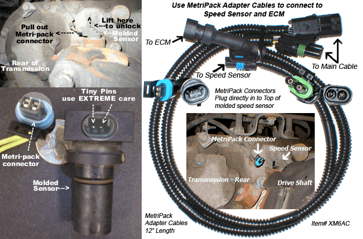 Metri Pack Connector Identification on Big Rig Truck Engine Part Diagram