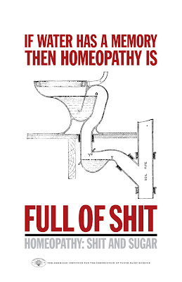 homeopathy is full of shit