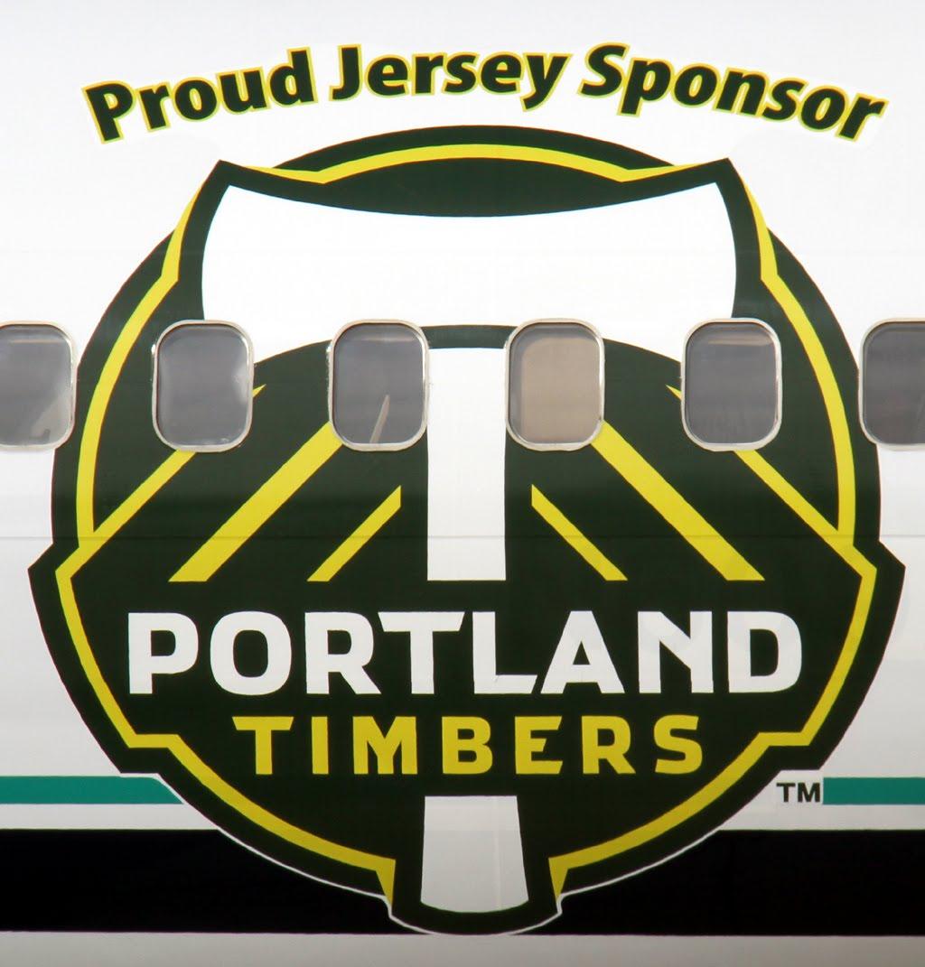 "Portland Timbers: Aero Pacific Flightlines: Alaska Airlines ""Portland"