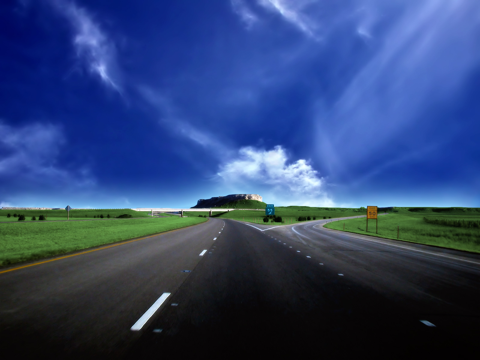 Best Wallpapers: Roads Wallpapers