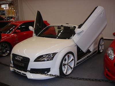 Tuned Audi TT Front