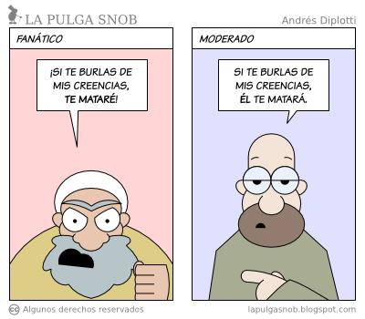 Humor gráfico sobre las religiones y dioses - Página 6 La+pulga+snob