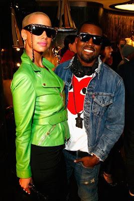 81414510 Kanye & Amber Rose