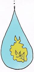 Não contamine a água...
