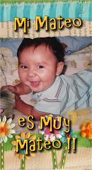 *Mi Mateo es muy Mateo*