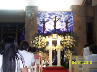 Holy Eucharist Church Moonwalk Paraaque altar