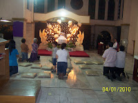 Resurrection of Our Lord altar