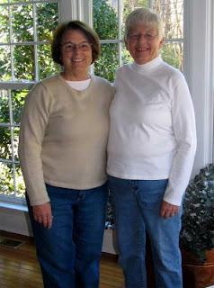 Bobbie & Peggy in 2008