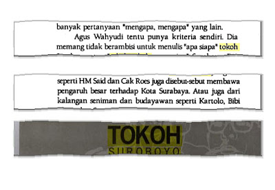 Sketsa Tokoh Suroboyo