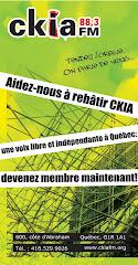 Il faut sauver CKIA !