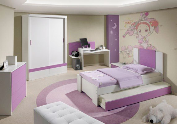 Shizuri Room Quarto-colonia-rudnick-Lilas-MX