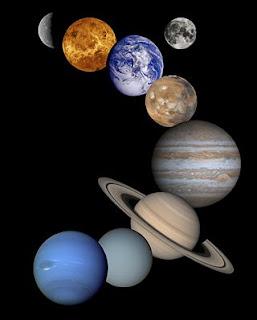 Nosso Sistema Solar é composto de 8 planetas