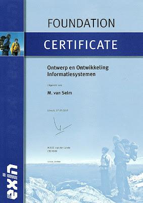 Certificaat ISDDF