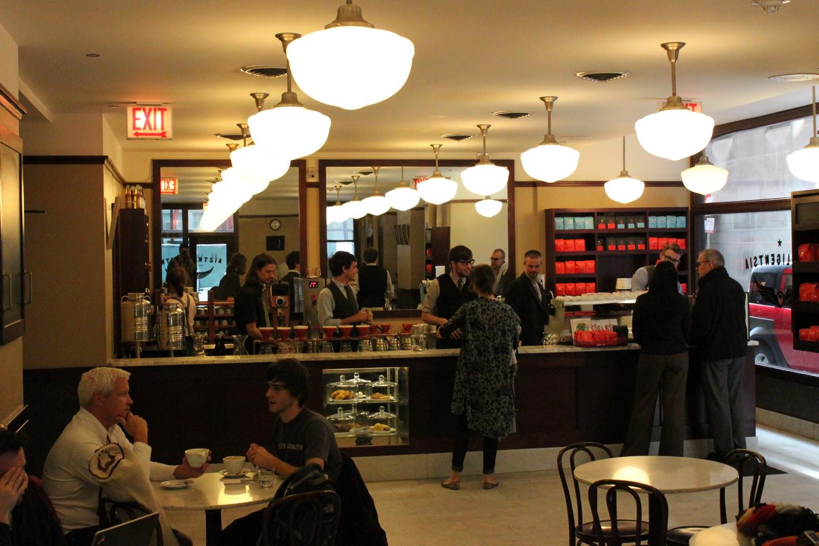 Chicago Intelligentsia Coffee Tour