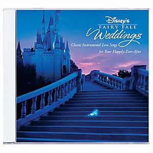 Disney Has Many CDs To Enhance Your Wedding Day