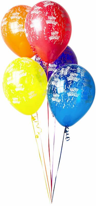 Progtedertio Animated Happy Birthday Balloons
