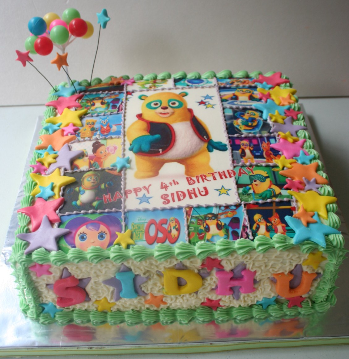 How To Make Special Agent Oso Birthday Cake