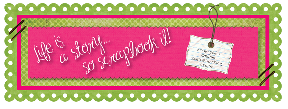 Life is a story…So scrapbook it!