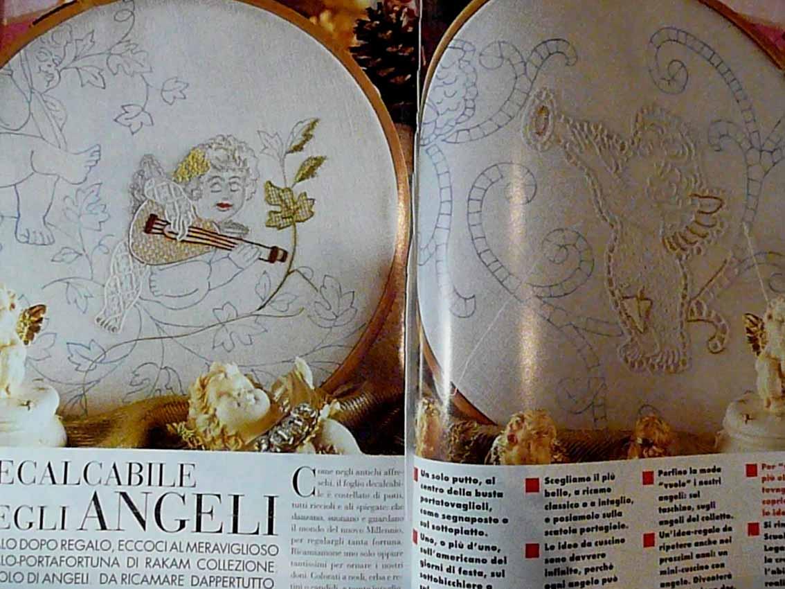 Итальянский журнал с вышивкой