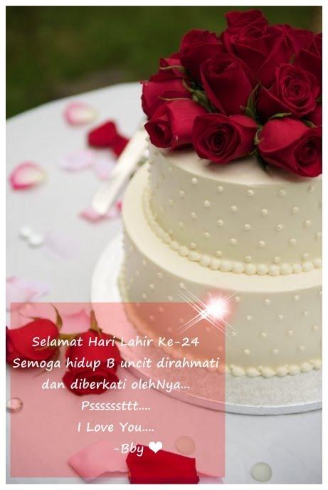 Ini Blog Amirah: Selamat Hari Lahir Sayang..Terima Kasih ...
