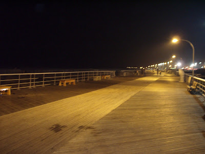 Another shot of the board walk.